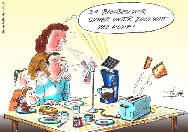 Solar- und Windenergie bringen uns weiter!