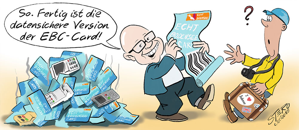 Cartoon-Karikatur-Comic-EBC-Card