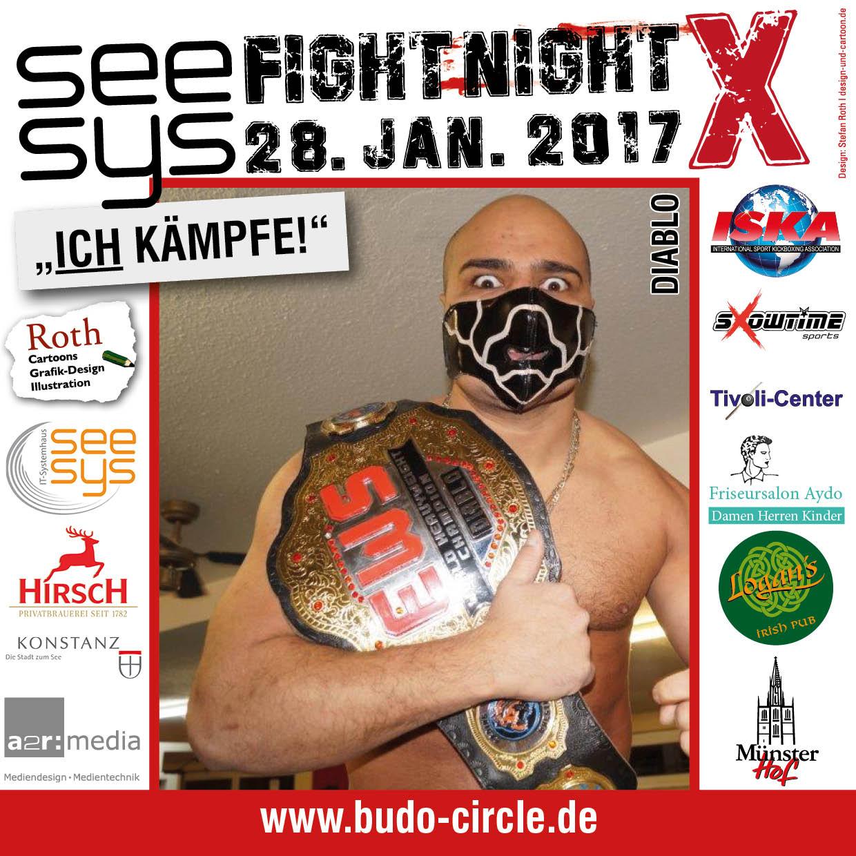 Fightcard seesysFIGHTNIGHT