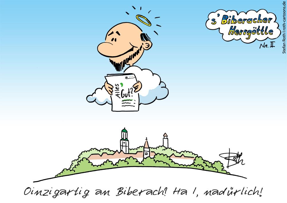 Herrgoettle von Biberach Fragebogen Marke Biberach