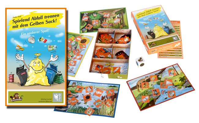 Lern-Würfelspiel - entwickelt und gestaltet von Stefan Roth