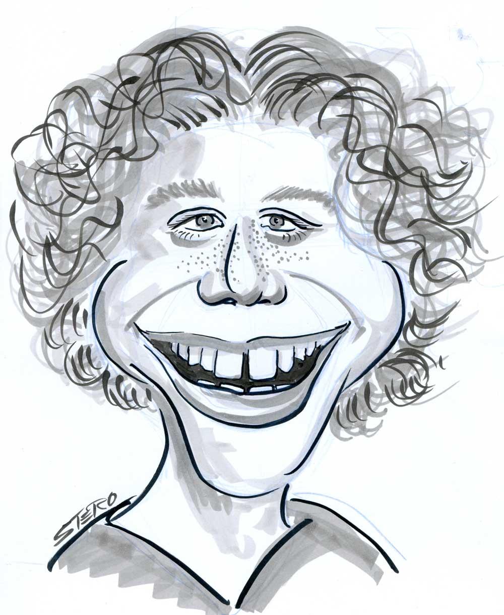 Portraitkarikatur