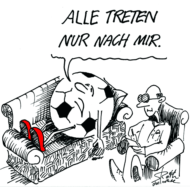 Fussball Beim Psychiater Cartoons Comic Karikaturen