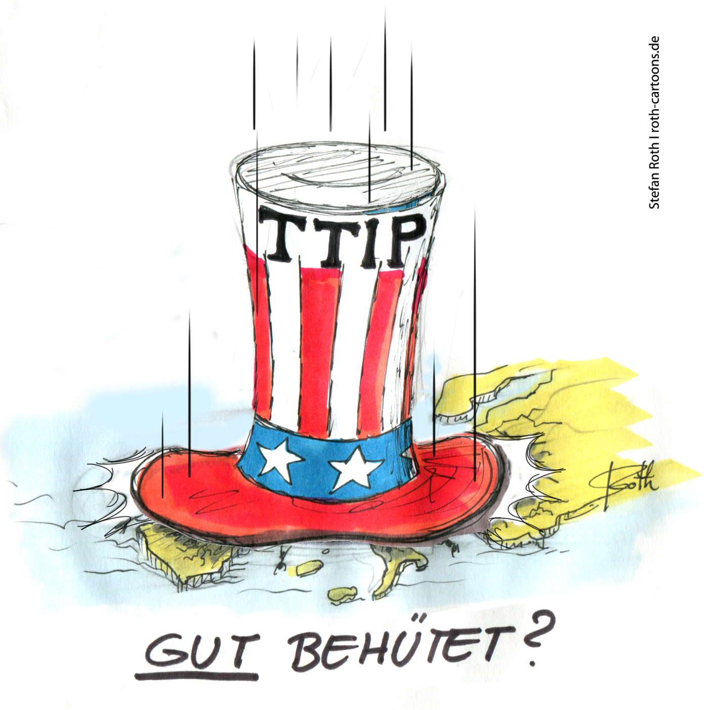 Uncle Sam in Europa TTIP