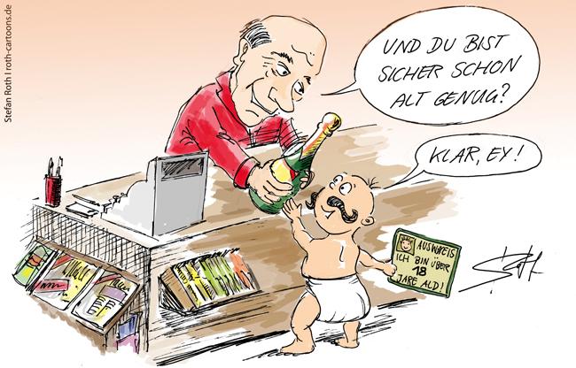 alterskontrolle bei alkoholkauf jugendschutzgesetz