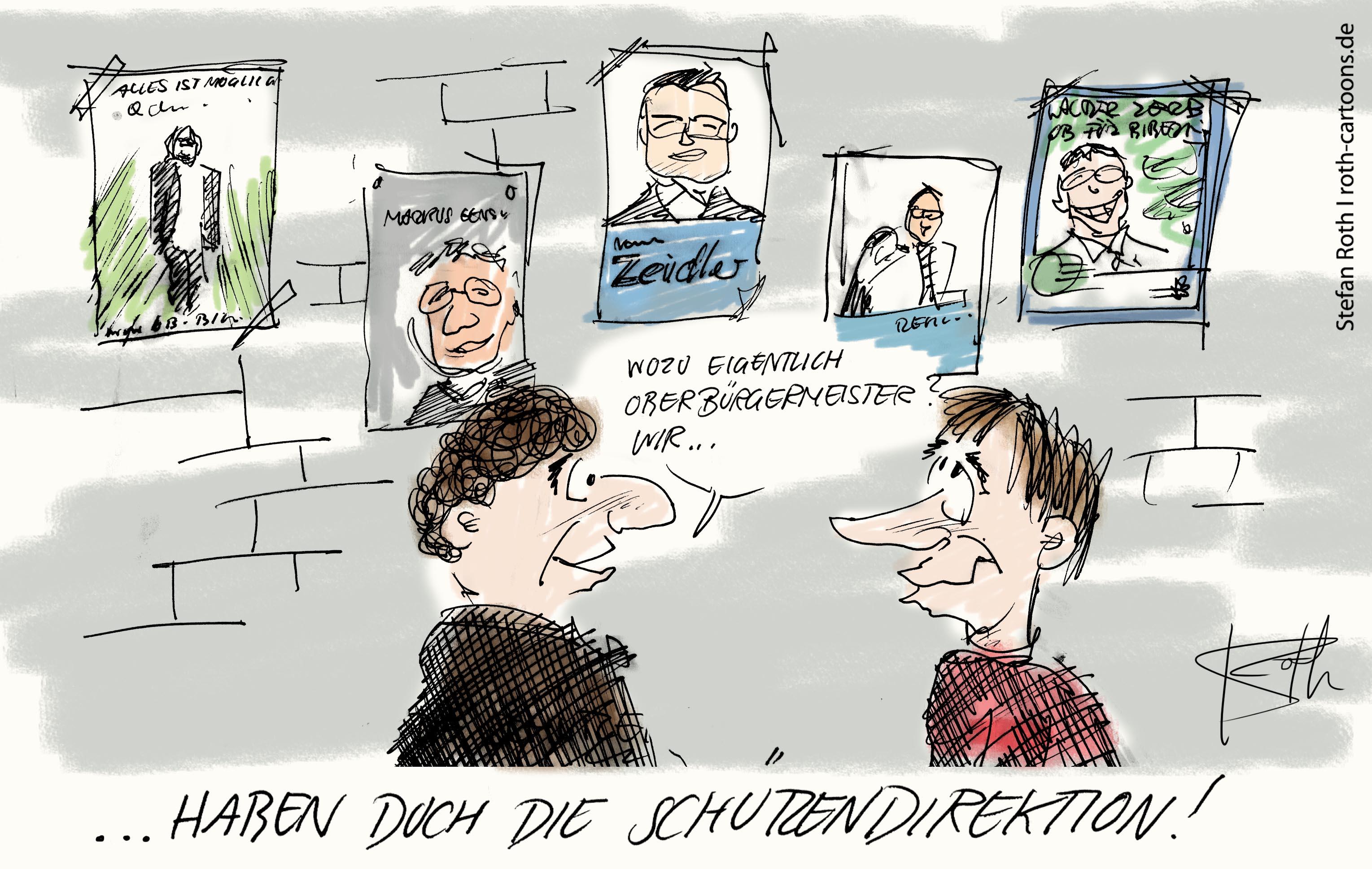 Oberbürgermeisterwahl in Biberach