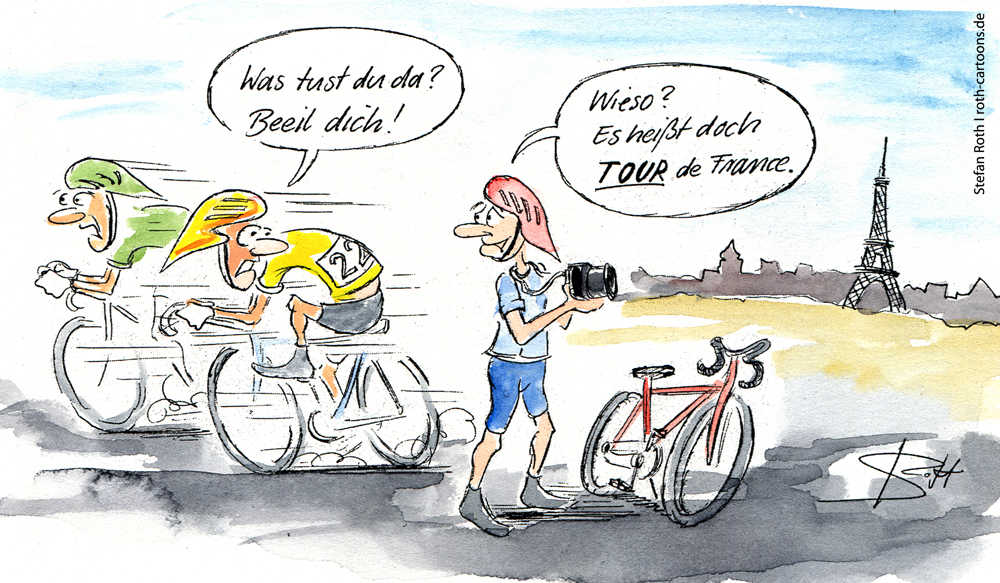 cartoon-karikatur-Tour-de-France2