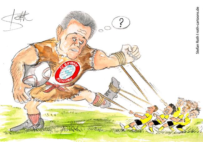 cartoon-karikatur-heynckes-fc-bayern-dortmund