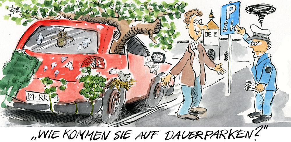 dauerparker-strafzettel