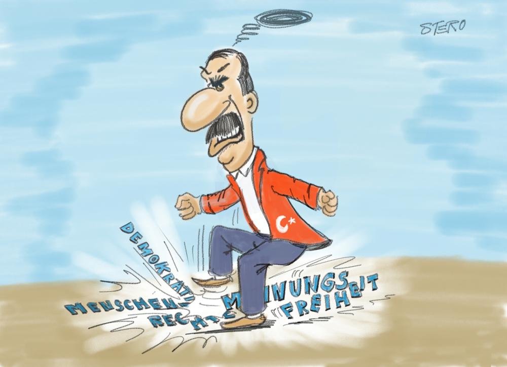 Erdogan als Rumpelstilzchen
