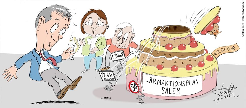cartoonkarikaturcartoon comic lärmaktionsplan salem