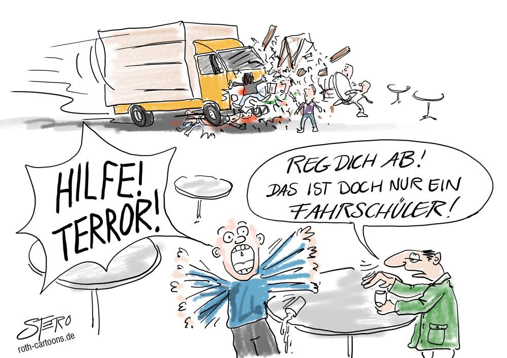 Terroranschlag-LKW-Unfall