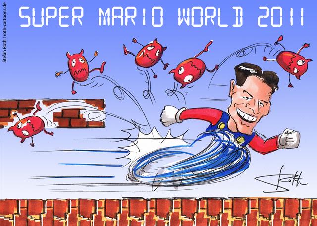 SUPER MARIO Gomez macht alle 3 Buden beim 3:0!
