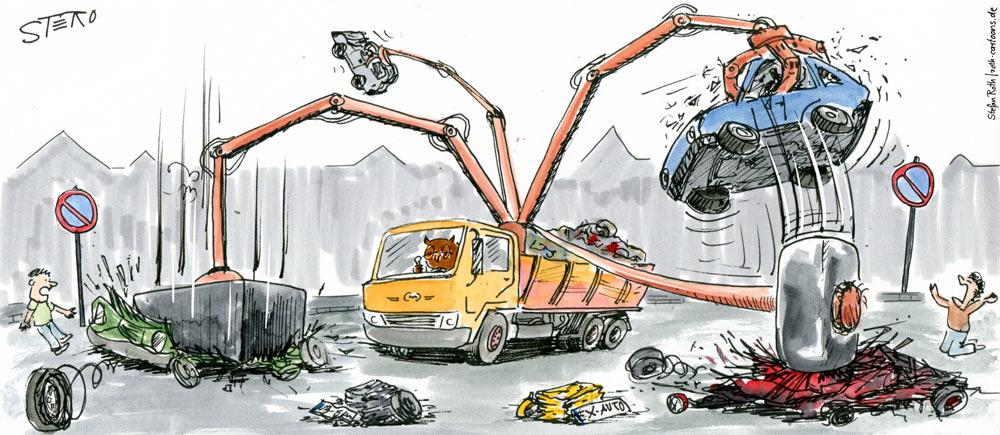 Druck auf Falschparker - Parkplatzproblem gelöst