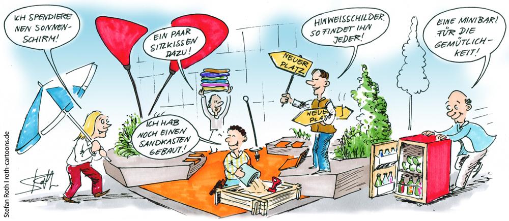 Karikatur Markdorf