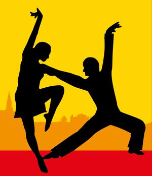 Salsa-Tanzpaar