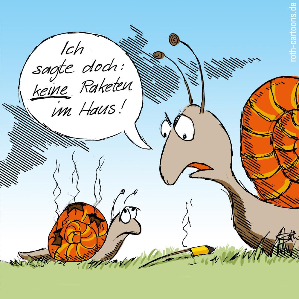 Cartoon-Comic: Silvesterwitz