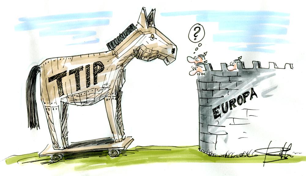 TTIP-Trojanisches Pferd vor Europa