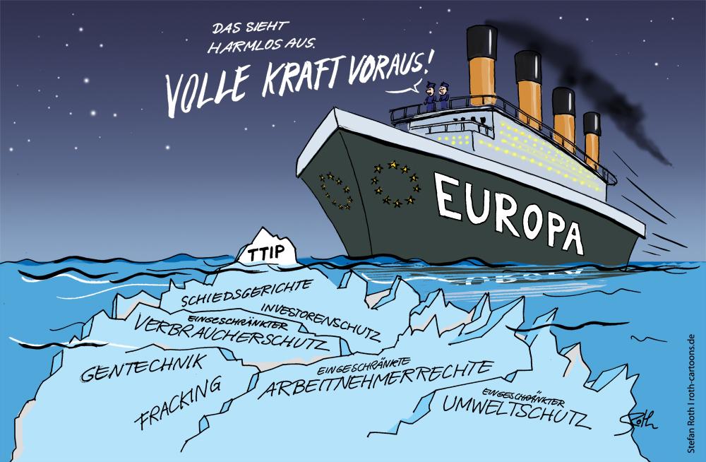 TTIP-CARTOON Titanic