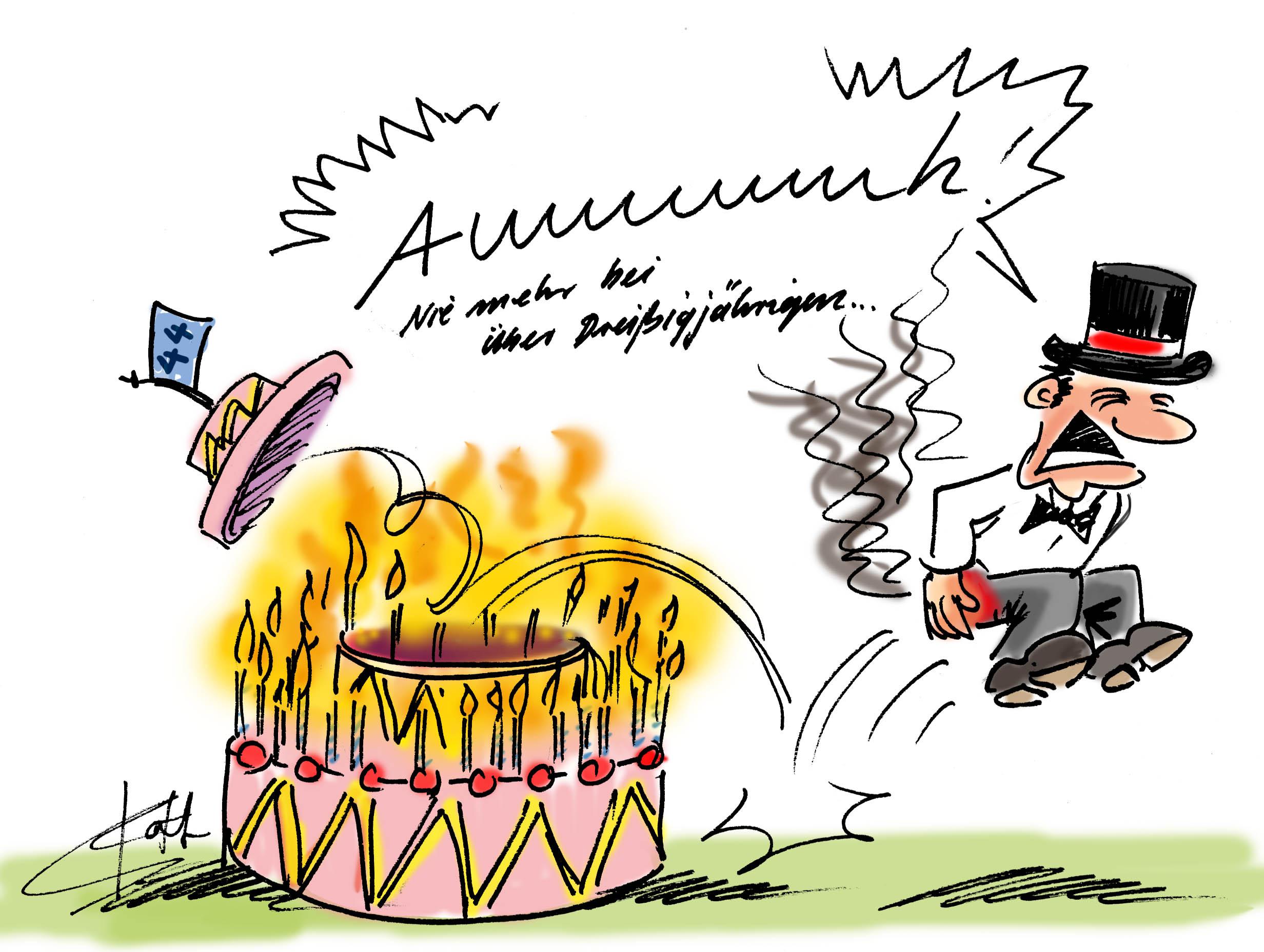 Alles Gute Zum Geburtstag Cartoons Comic Karikaturen