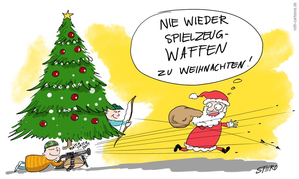 Cartoon-Comic-Spiezeugwaffen Weihnachtsgeschenke