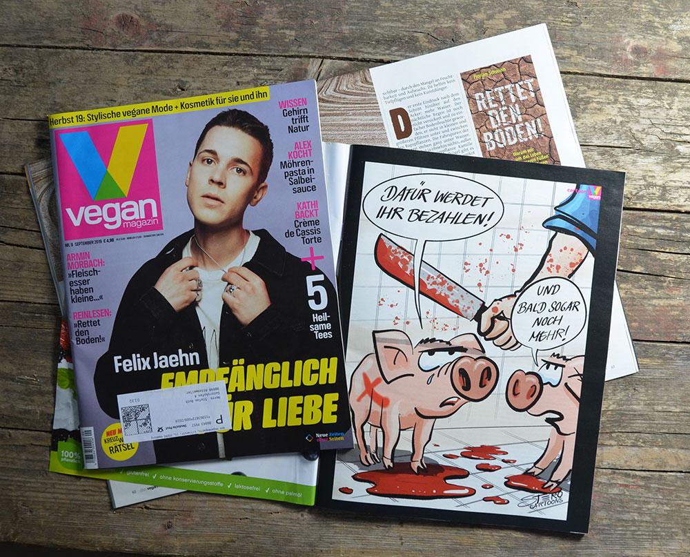 veganmagazin-cartoon-schwein-fleischsteuer-stero-comic-mehrwertsteuer